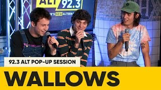 Wallows Answer Fans Questions at ALT Pop Up Session