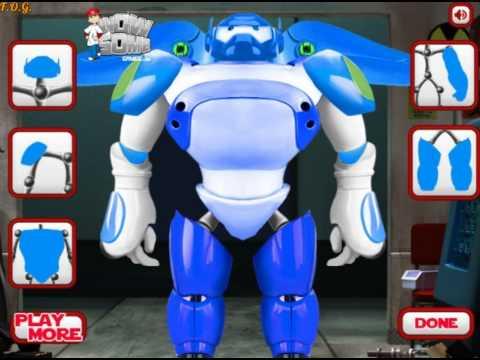 Big Hero 6 Create Baymax (Город героев: Бэймакс)