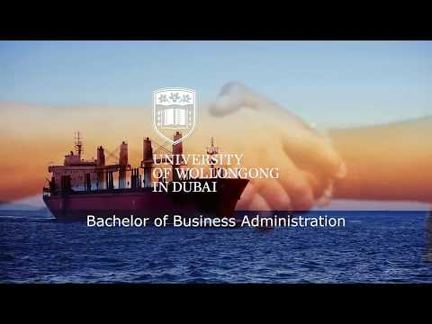UOWD's Bachelor Of Business Administration