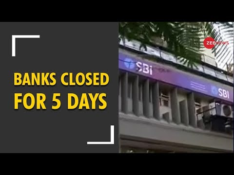 Deshhit: Banks to be closed for 5 days from 21 to 26 December
