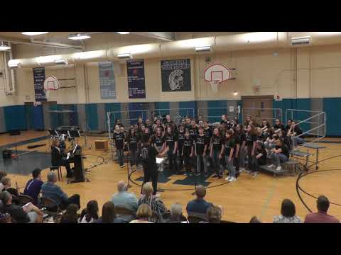 Songs of Stage and Screen Herrick Middle School Choir Concert Spring 2019