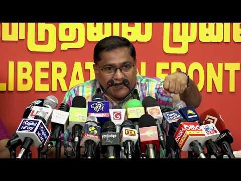 JVP press conference on 13.01.2019