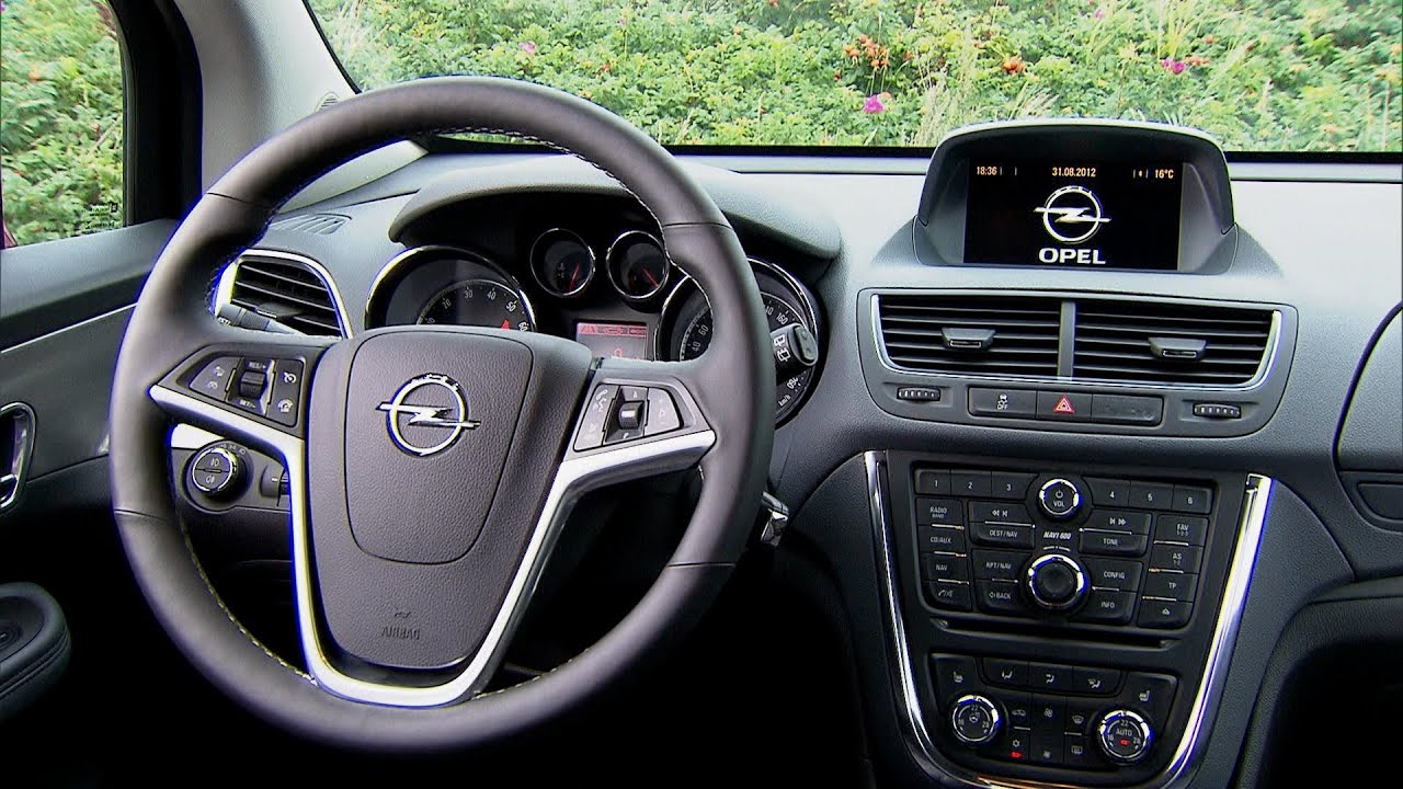2013 opel mokka interior youtube