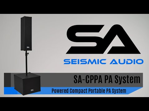 Seismic Audio SA CPPA Compact Portable PA System (Official)