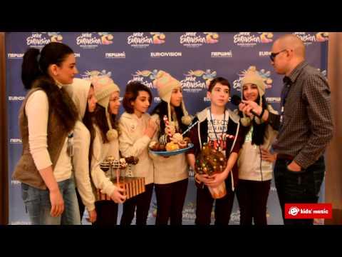 Детское Евровидение 2013: Интервью с Моникой Аванесян (Армения)