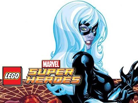 LEGO Marvel Superheroes: BLACK CAT Gameplay - YouTube
