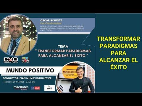 🎙️  Entrevista en #MundoPositivo 💪 Transformar paradigmas para alcanzar el éxito 🚀