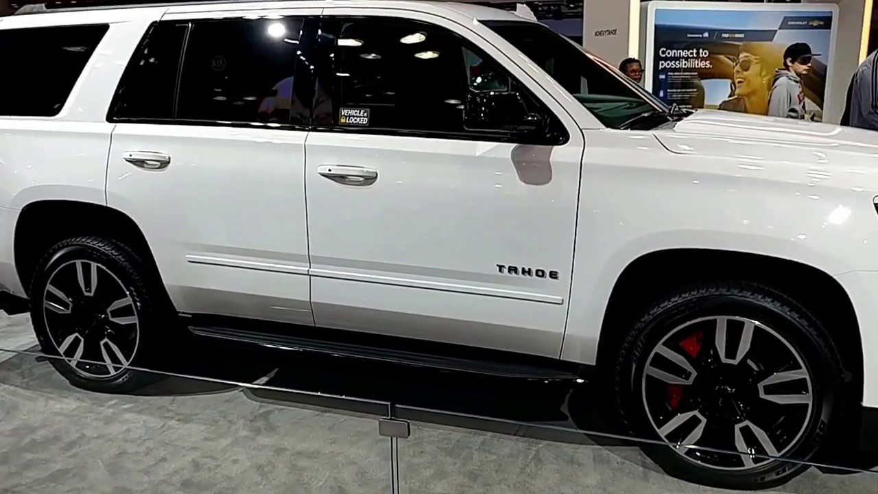 2018 chevrolet rst tahoe. brilliant tahoe 2018 chevrolet tahoe rst  new york international auto show with chevrolet rst tahoe t