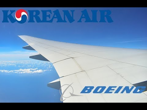 LANDING on board a Korean Air 777-3B5 at Ninoy Aquino International Airport