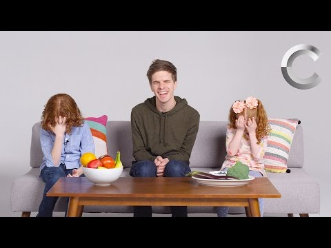 Kids Describe Color to a Blind Person | Kids Describe | Cut
