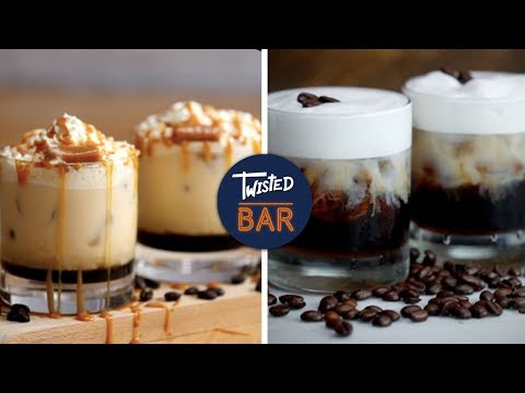 6 Heavenly White Russian Twists | Dessert Cocktail Recipes | Twisted Bar