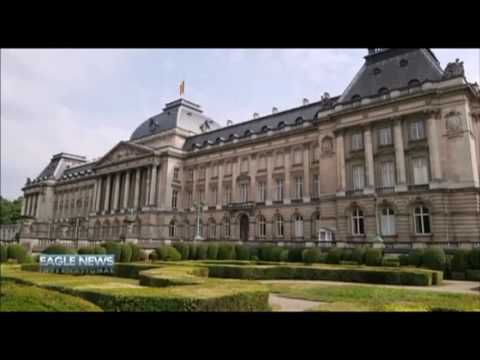 THE ROYAL PALACE -BRUSSELS BELGIUM