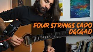 four strings capo - tuning : dgcgad