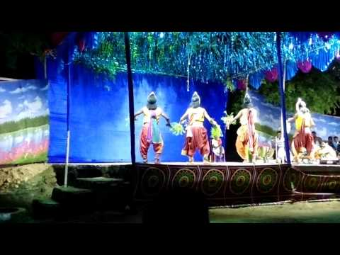 Chhau dance at bhanderisai - seraikela part 10