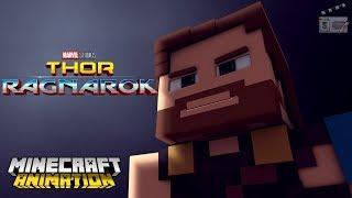 a Normal Job For Thor....? - Thor Ragnarok (Minecraft Animation)