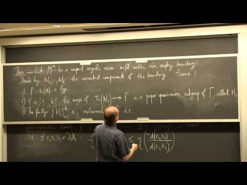 Marc Bourdon: Hyperbolic spaces and conformal dimension