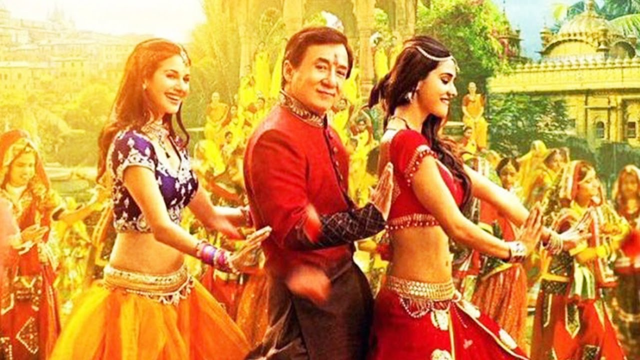 Hair Style Youtube In Hindi: Kung Fu Yoga Movie Jackie Chan Hindi Style Bollywood Song