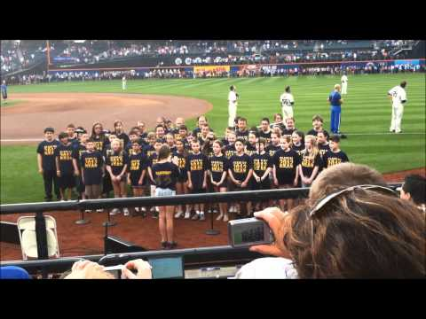 Lockhart Elementary School - National Anthem at Citi Field May 30, 2012