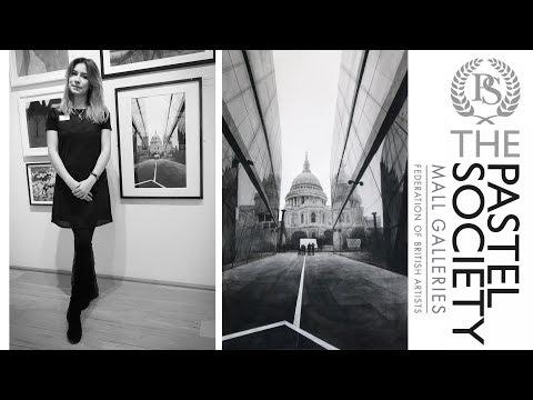 ART VLOG: Выставка The Pastel Society Annual Exhibition 2018