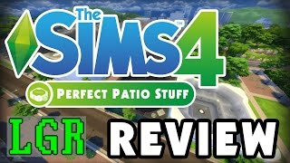 LGR - The Sims 4 Perfect Patio Stuff Review