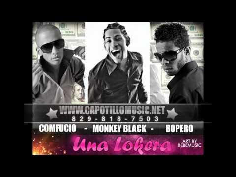 Monkey Black Ft Comfucio & Bopero - Una Lokera [Official Audio Trailer]