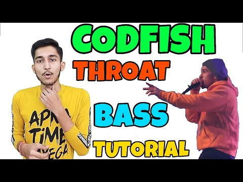 How To Beatbox In Hindi Codfish Throat Bass