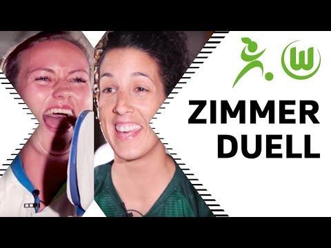 Romantik, Schönheit & Partys - wer hat die Nase vorn? | Minde vs. Neto - Zimmerduell | VfL Wolfsburg