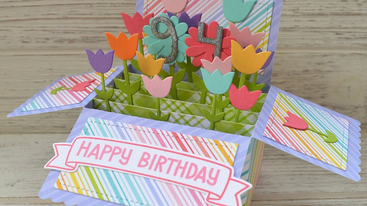 How To Make A Pop Up Birthday Card
