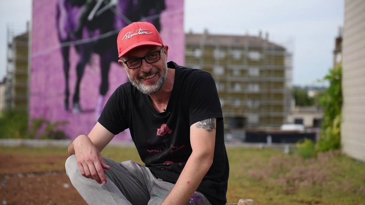 Rouen Impressionnée 2020                                        Portrait de Fred Calmets