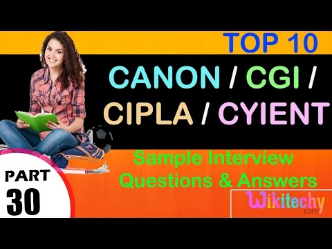 jobs | cgi careers | cipla recruitment | cyient ltd | Canon India Careers  | cgi bangalore careers