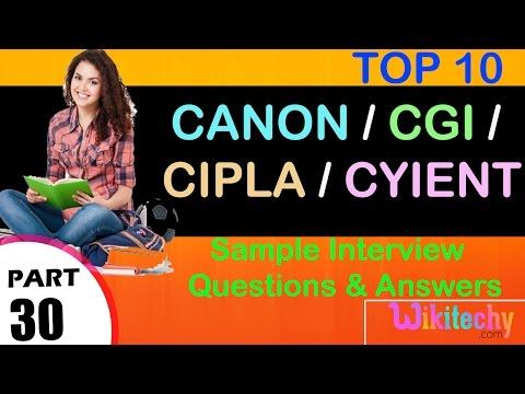 canon jobs | cgi careers | cipla vacancy | cyient online jobs | wikitechy