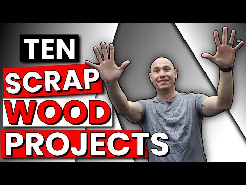 10 AMAZING Scrap Wood Project Ideas | Beginner Woodworking Projects
