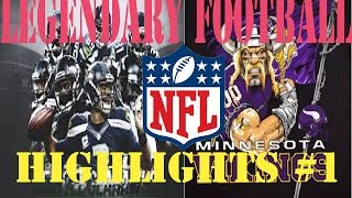 NFL HIGHLIGHT COMMENTARY! Roblox (Legendary Football)
