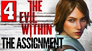 The Evil Within The Assignment Walkthrough Part 4 Full Gameplay DLC Let