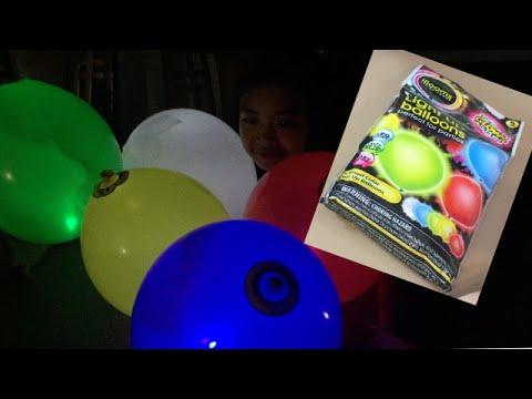 heart birthday you led balloon love latex wedding up i light balloons flashing zljq item