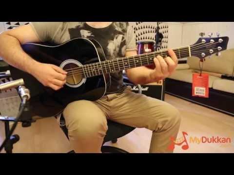 Stagg SW201 BK - Akustik Gitar İncelemesi (Hızlı Video)
