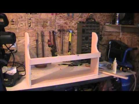 DIY Spice Rack Step by Step
