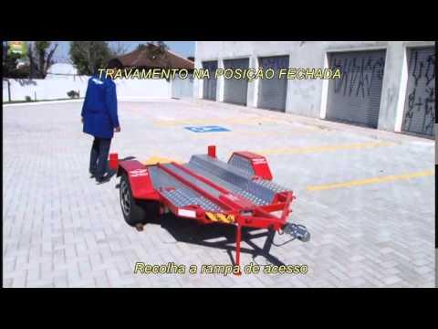 Rebocar  - Carreta Dobrável ® Carretinha Dobrável para Moto