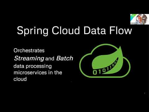 Building a ML based application with Spring Cloud Dataflow I VMware Tanzu