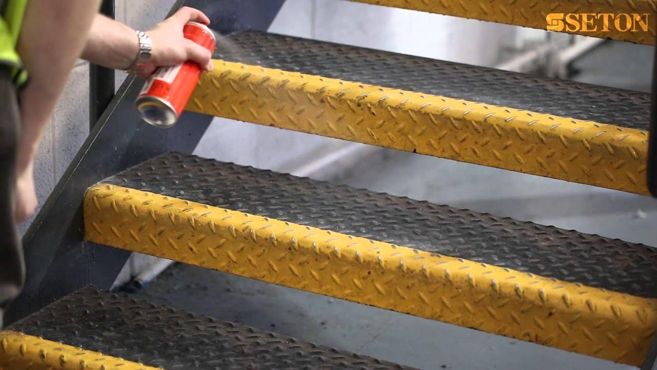 Rocol Safe Step 174 Anti Slip Spray Seton Uk Youtube