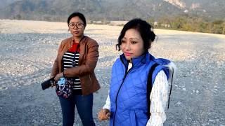 Ladies trek to Buxa Fort Jail, Alipurduar, West Bengal