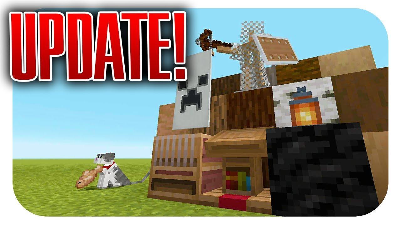 NEUES Update! ALLE Features! (Minecraft PS10 Update)