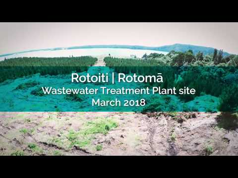 Rotoiti | Rotomā Wastewater Treatment Plant site - March 2018
