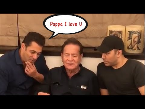 CRY | Salman Khan's EMOTIONAL Moment SINGING For Dad Salim Khan