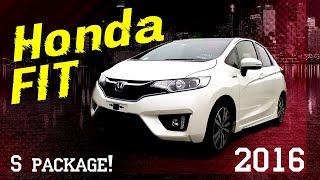 Обзор Honda FIT S Package, тест драйв!