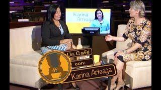 Un Café Con  Karina Arteaga
