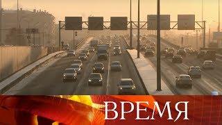 В Московскую область пришел ледяной циклон.