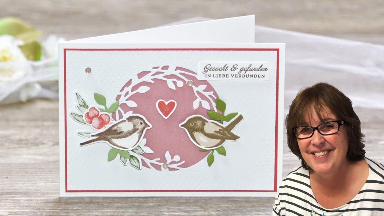 Hochzeitskarte/Glückwunschkarte・Wedding Card・Birds & Branches ・ Stampin' Up!