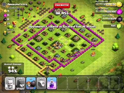 Clash of Clans - Typical RegaliaRemix raid