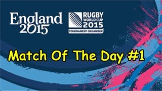 Rugby World Cup 2015 - England vs Fiji - Rugby Challenge 2